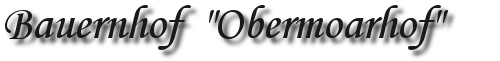 Obermoarhof Logo